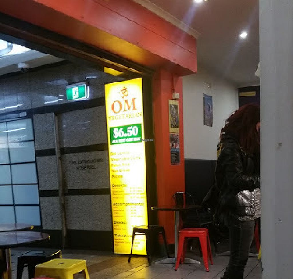 """Photo of Om Vegetarian - Capitol Arcade  by <a href=""""/members/profile/KatieBatty"""">KatieBatty</a> <br/>The cafe <br/> September 6, 2016  - <a href='/contact/abuse/image/50591/260069'>Report</a>"""