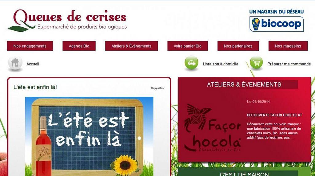 "Photo of Queues de Cerises  by <a href=""/members/profile/community"">community</a> <br/>Biocoop Queues de Cerises <br/> August 23, 2014  - <a href='/contact/abuse/image/50604/77978'>Report</a>"