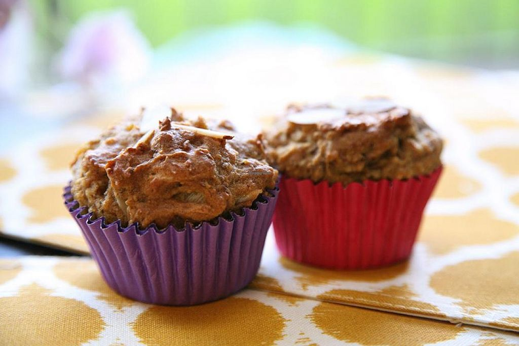 "Photo of Sweet Sundays Baking Co  by <a href=""/members/profile/Marra4SweetEarth"">Marra4SweetEarth</a> <br/>Vegan and gluten free Plantain-nut muffins made with organic ingredients and without added sugar <br/> August 25, 2014  - <a href='/contact/abuse/image/50608/78220'>Report</a>"