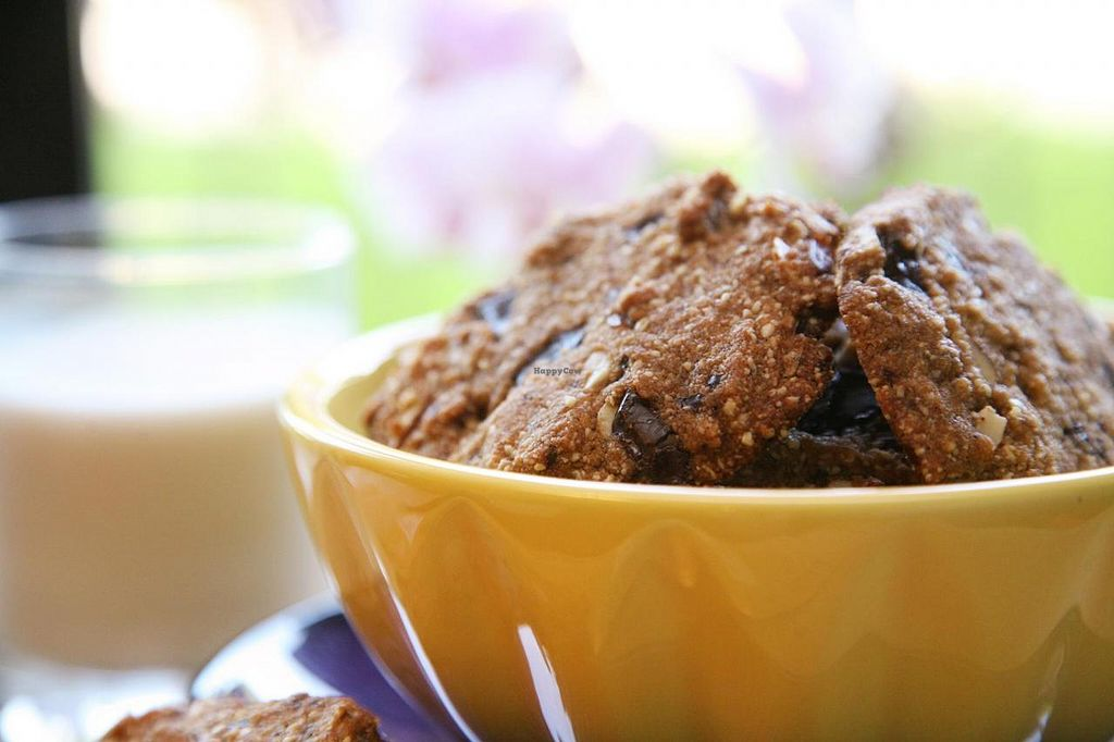 "Photo of Sweet Sundays Baking Co  by <a href=""/members/profile/Marra4SweetEarth"">Marra4SweetEarth</a> <br/>Vegan and gluten free cocoa-nut cookies made with organic ingredients and no added sugar <br/> August 25, 2014  - <a href='/contact/abuse/image/50608/78221'>Report</a>"