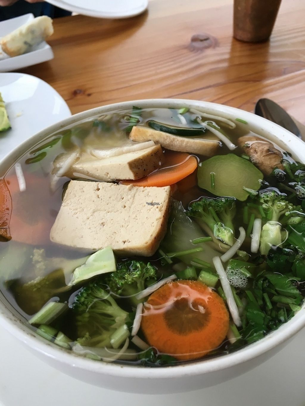 """Photo of Lotus Seed Vegan  by <a href=""""/members/profile/vegan%20frog"""">vegan frog</a> <br/>Pho (so delicious!) <br/> September 3, 2016  - <a href='/contact/abuse/image/50638/173162'>Report</a>"""