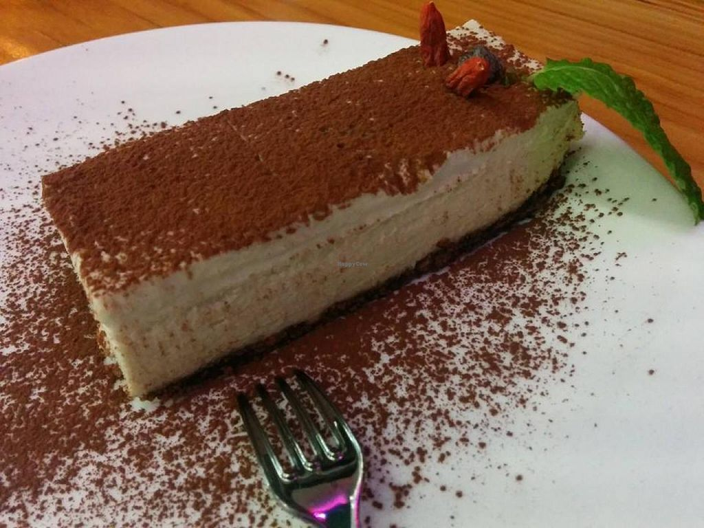 """Photo of Lotus Seed Vegan  by <a href=""""/members/profile/carson"""">carson</a> <br/>Vegan Tiramisu <br/> November 11, 2014  - <a href='/contact/abuse/image/50638/85243'>Report</a>"""