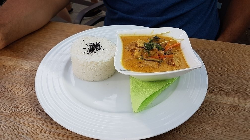 """Photo of Restaurant Sojka and Spol  by <a href=""""/members/profile/Ludmilka"""">Ludmilka</a> <br/>vegan curry with tempeh <br/> July 1, 2017  - <a href='/contact/abuse/image/50674/275708'>Report</a>"""