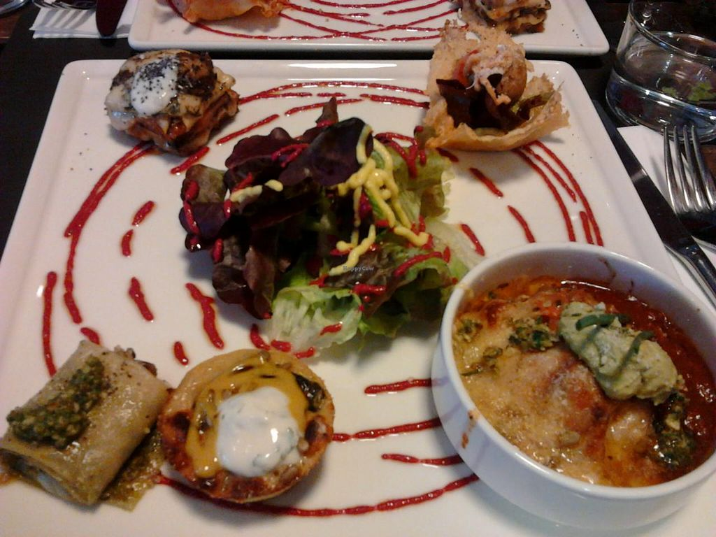 """Photo of Rest'o  by <a href=""""/members/profile/rourou"""">rourou</a> <br/>friday's night dish (only one menu on friday night, it changes avery week) for 13,5E <br/> August 28, 2014  - <a href='/contact/abuse/image/50697/78468'>Report</a>"""
