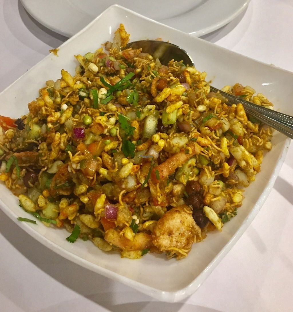 """Photo of Chaat Bhavan  by <a href=""""/members/profile/SFRobbie"""">SFRobbie</a> <br/>Hara bhara bhel salad was great! <br/> December 28, 2016  - <a href='/contact/abuse/image/50705/205624'>Report</a>"""