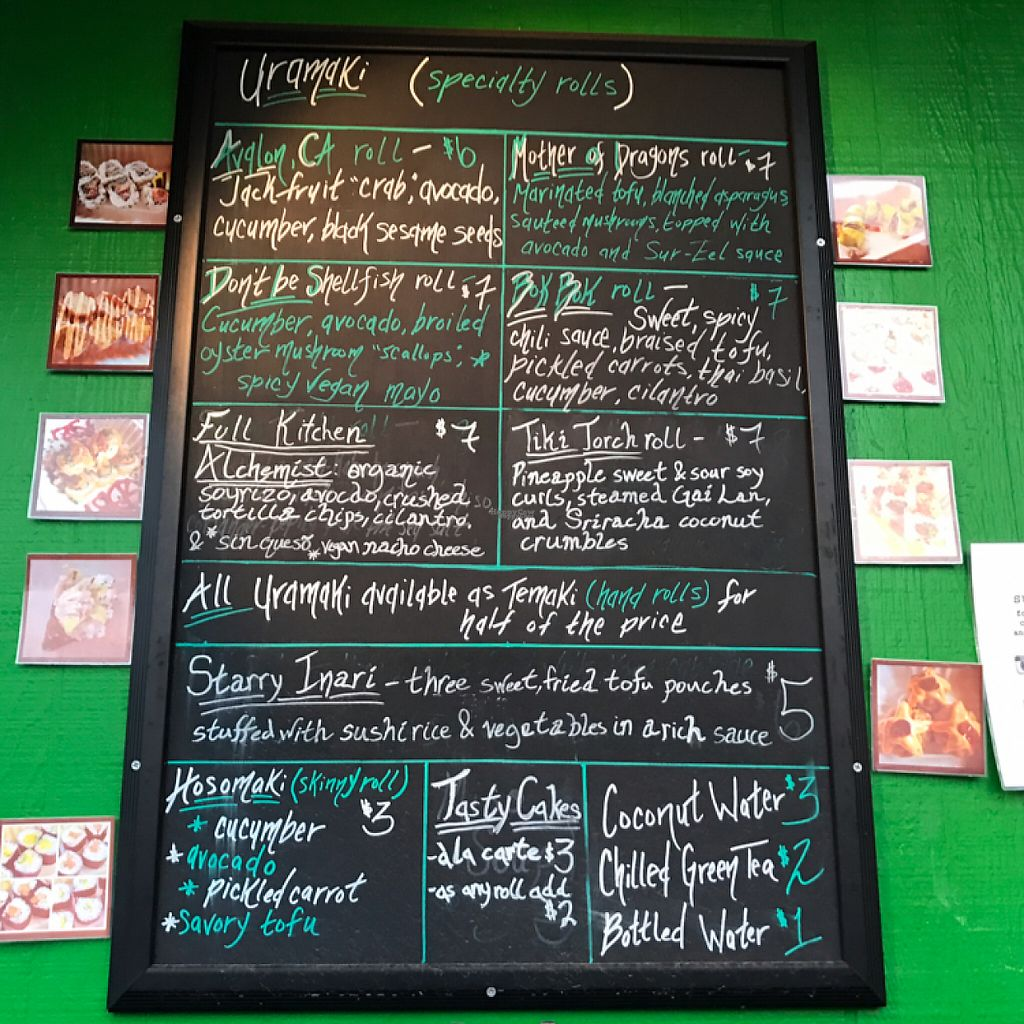"""Photo of SushiLove - Food Cart  by <a href=""""/members/profile/lindseymiller"""">lindseymiller</a> <br/>menu!  <br/> April 22, 2017  - <a href='/contact/abuse/image/50708/250841'>Report</a>"""