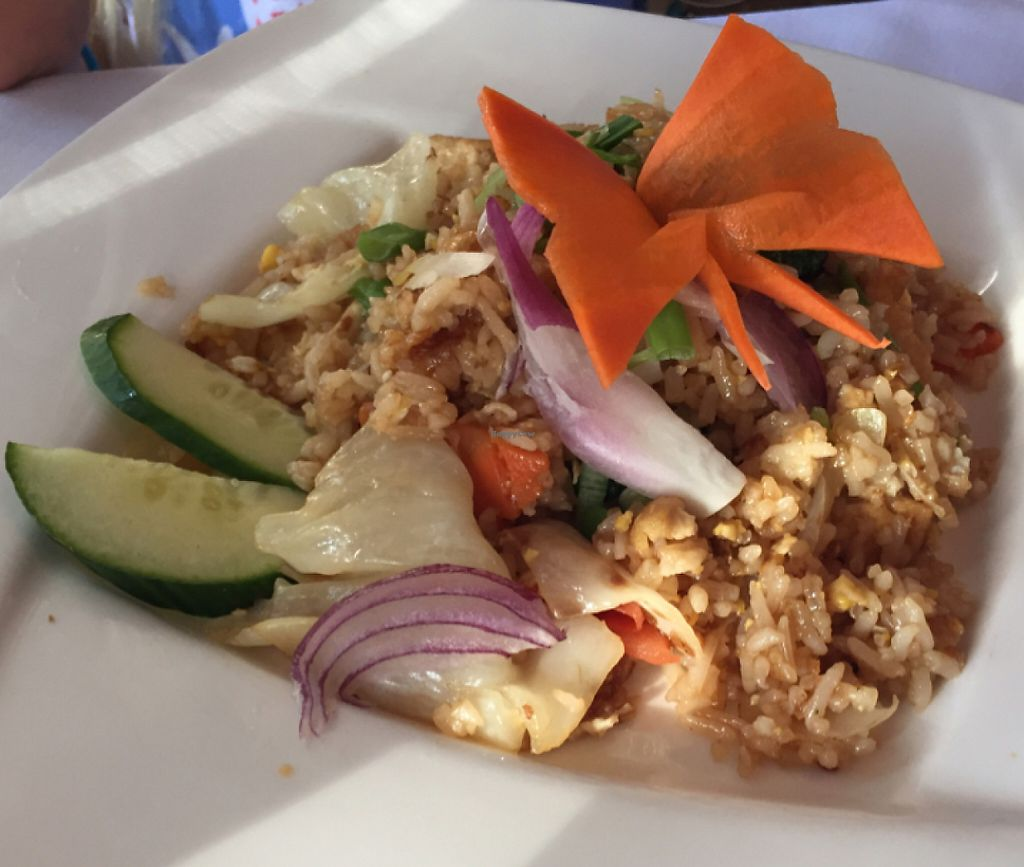 """Photo of Ruan Thai Hut  by <a href=""""/members/profile/Chad_meyers"""">Chad_meyers</a> <br/>Veggie fried rice - no egg <br/> June 22, 2016  - <a href='/contact/abuse/image/50711/224623'>Report</a>"""