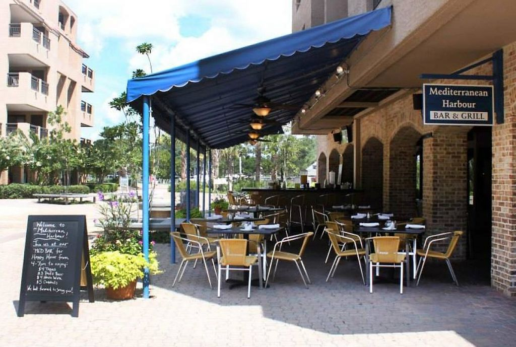 "Photo of Mediterranean Harbour Bar and Grill  by <a href=""/members/profile/community"">community</a> <br/>Mediterranean Harbour Bar and Grill <br/> August 26, 2014  - <a href='/contact/abuse/image/50734/224626'>Report</a>"