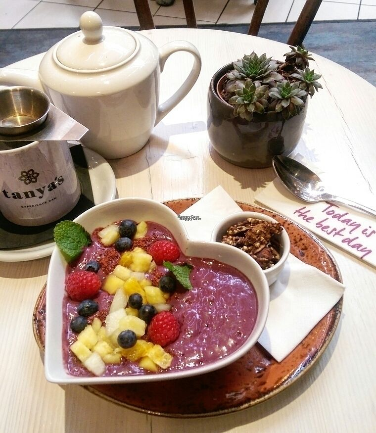 """Photo of Tanya's Cafe  by <a href=""""/members/profile/Melissaj1990"""">Melissaj1990</a> <br/>acai bowl  <br/> October 7, 2016  - <a href='/contact/abuse/image/50791/180221'>Report</a>"""