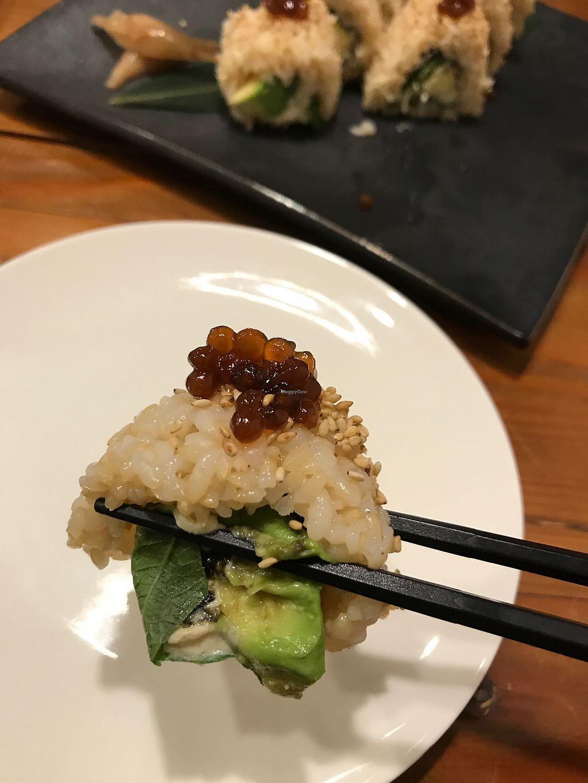 "Photo of Vege Cafe Lotus  by <a href=""/members/profile/daninhavegan"">daninhavegan</a> <br/>Avocado sushi <br/> September 16, 2017  - <a href='/contact/abuse/image/50820/304904'>Report</a>"