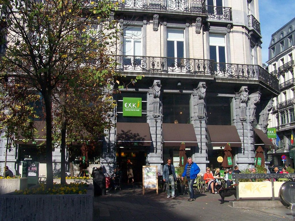 """Photo of Exki - Place De Brouckere  by <a href=""""/members/profile/Amy1274"""">Amy1274</a> <br/>Exki <br/> October 18, 2014  - <a href='/contact/abuse/image/50823/83274'>Report</a>"""