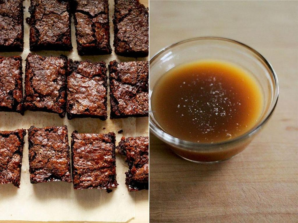 """Photo of Sweet Utopian - Market Stall  by <a href=""""/members/profile/AshleyRenee"""">AshleyRenee</a> <br/>Salted Coconut Caramel Brownies <br/> August 30, 2014  - <a href='/contact/abuse/image/50831/78630'>Report</a>"""