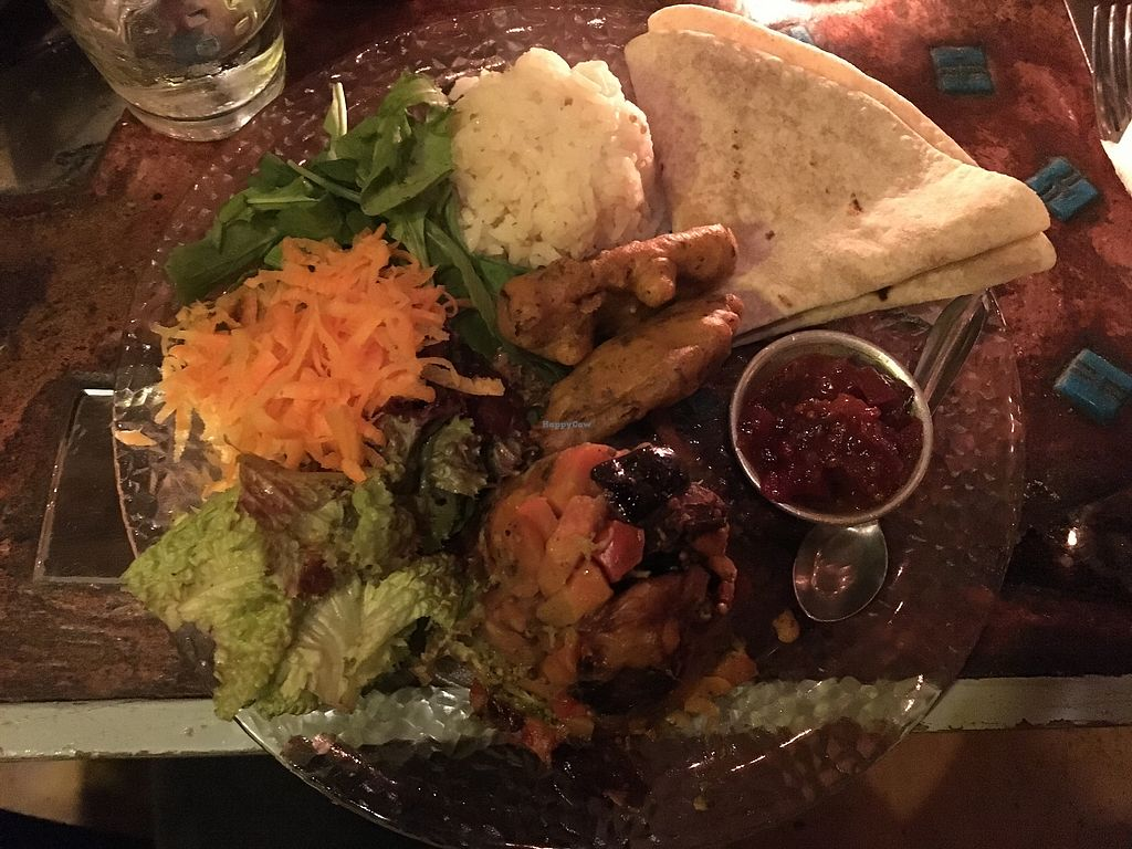 """Photo of Krishna Veggie  by <a href=""""/members/profile/waiem"""">waiem</a> <br/>this thali dish was delicious! <br/> June 24, 2017  - <a href='/contact/abuse/image/5083/272950'>Report</a>"""