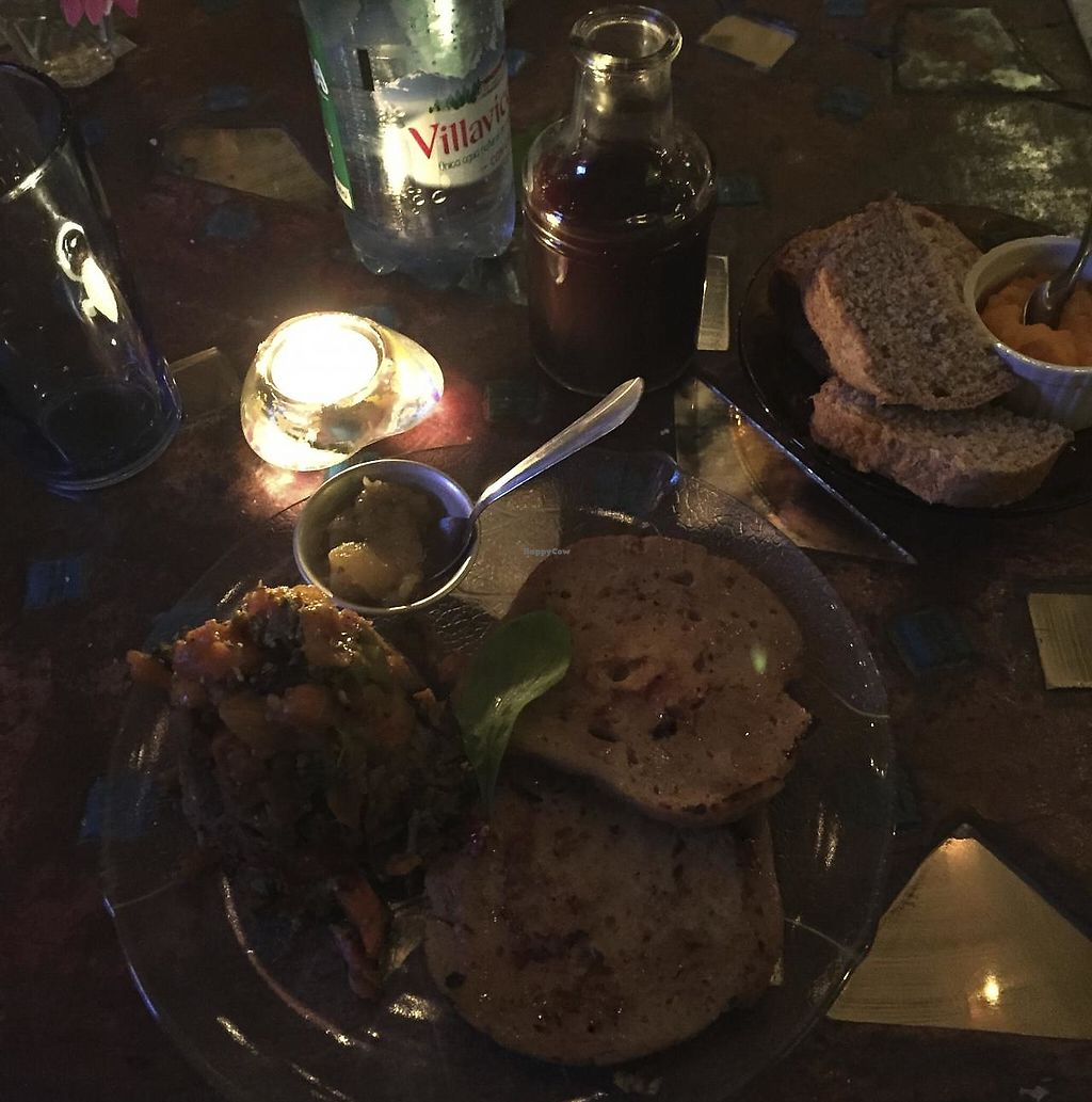 """Photo of Krishna Veggie  by <a href=""""/members/profile/beckettthedog"""">beckettthedog</a> <br/>bifecitos de seitan at Krishna Veggie <br/> July 24, 2015  - <a href='/contact/abuse/image/5083/283512'>Report</a>"""