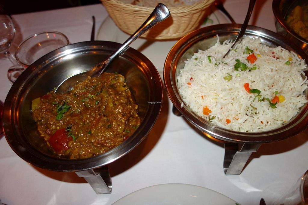 "Photo of Maharani  by <a href=""/members/profile/Gudrun"">Gudrun</a> <br/>Vegan dishes @ Maharani <br/> November 4, 2014  - <a href='/contact/abuse/image/50866/84634'>Report</a>"