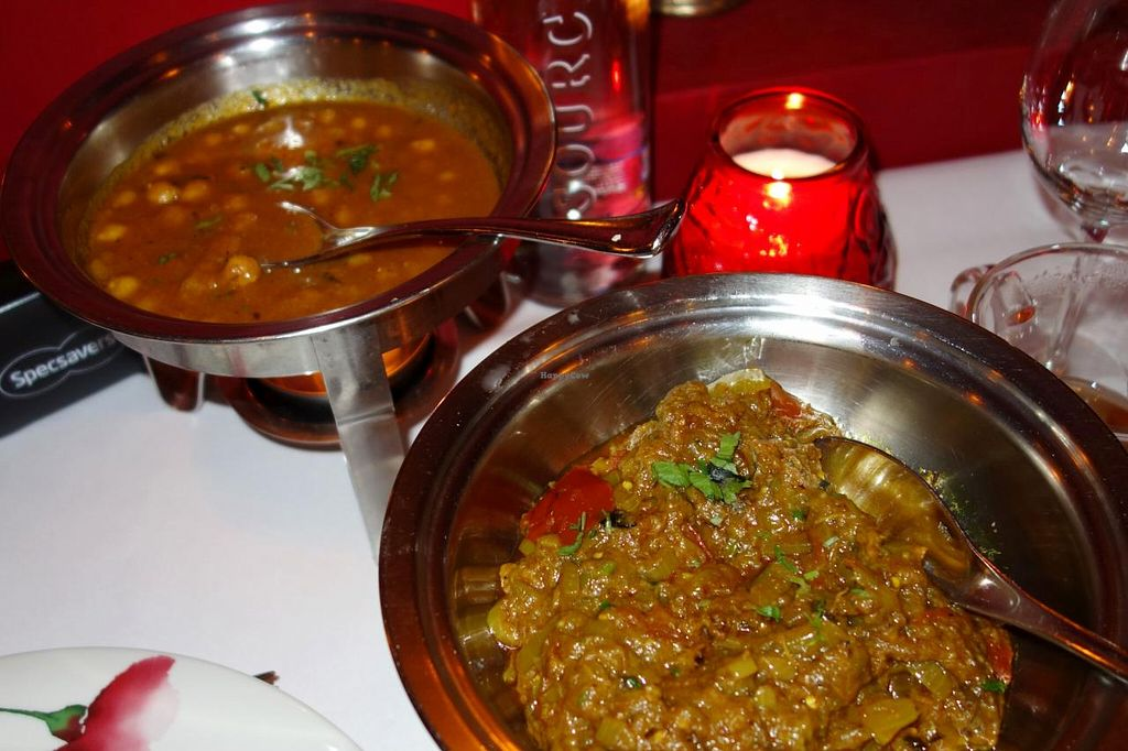 "Photo of Maharani  by <a href=""/members/profile/Gudrun"">Gudrun</a> <br/>Vegan dishes @ Maharani <br/> November 4, 2014  - <a href='/contact/abuse/image/50866/84635'>Report</a>"