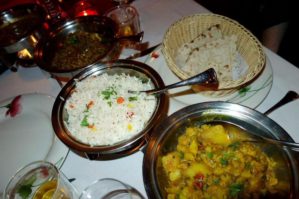 "Photo of Maharani  by <a href=""/members/profile/Gudrun"">Gudrun</a> <br/>Vegan dishes @ Maharani <br/> November 4, 2014  - <a href='/contact/abuse/image/50866/84636'>Report</a>"