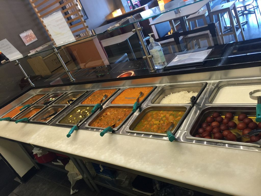 """Photo of India Bistro  by <a href=""""/members/profile/Indiabistro2013"""">Indiabistro2013</a> <br/>Hurry Curry counter  <br/> September 9, 2015  - <a href='/contact/abuse/image/50884/117053'>Report</a>"""