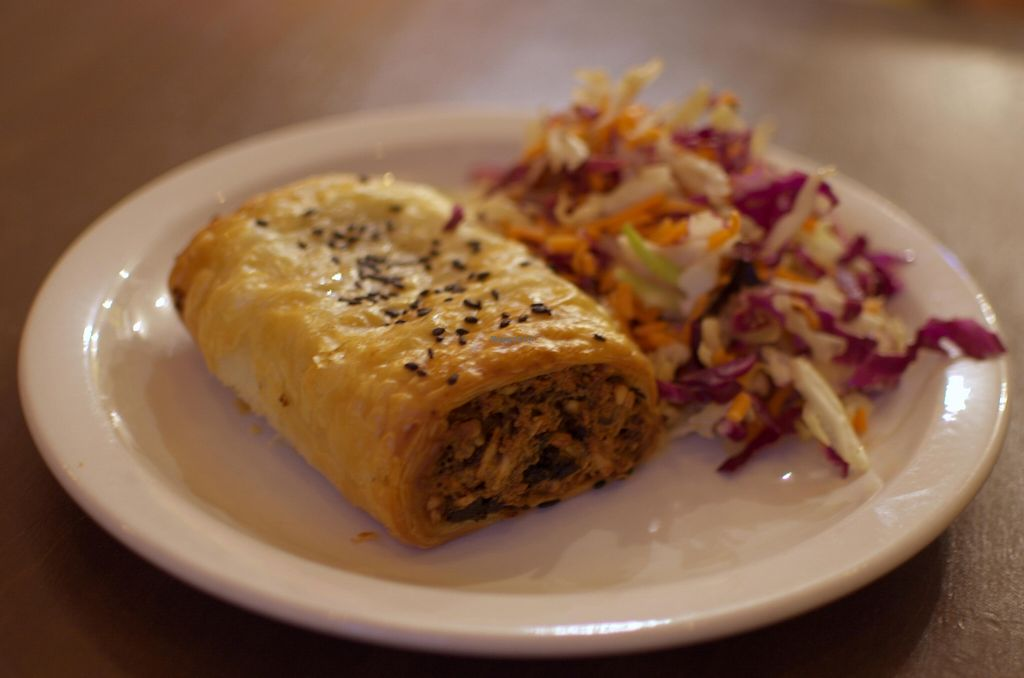 "Photo of Mantra Lounge  by <a href=""/members/profile/chocoholicPhilosophe"">chocoholicPhilosophe</a> <br/>Sausage roll with Asian slaw <br/> May 6, 2016  - <a href='/contact/abuse/image/50906/147800'>Report</a>"