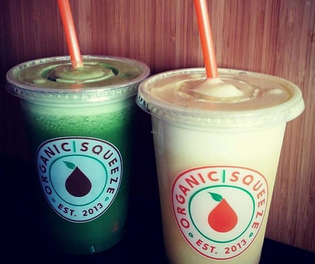 """Photo of Organic Squeeze  by <a href=""""/members/profile/community"""">community</a> <br/>Fresh juices <br/> September 14, 2014  - <a href='/contact/abuse/image/50913/217723'>Report</a>"""