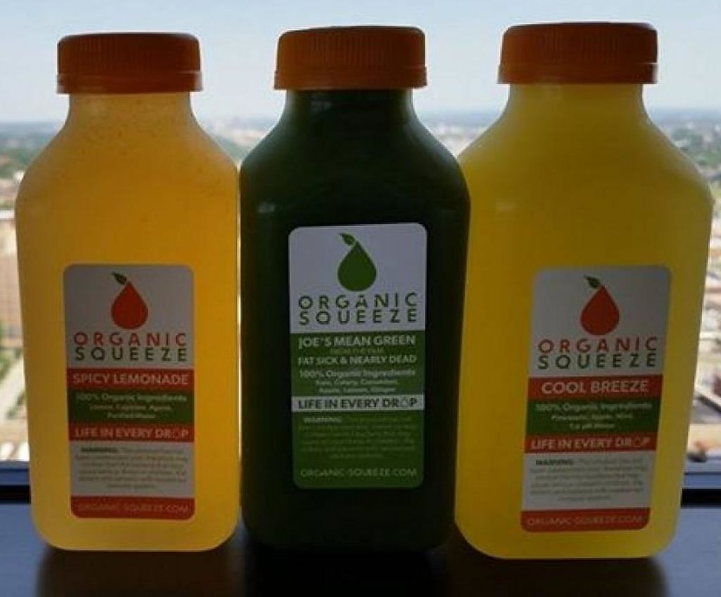 """Photo of Organic Squeeze  by <a href=""""/members/profile/community"""">community</a> <br/>Fresh juices <br/> September 14, 2014  - <a href='/contact/abuse/image/50913/217724'>Report</a>"""