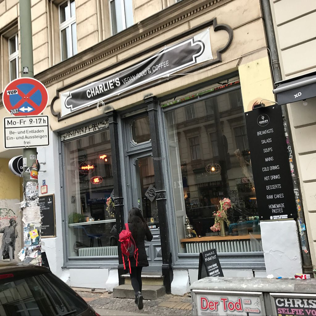 """Photo of CLOSED: Charlie's Vegan Food & Coffee  by <a href=""""/members/profile/marky_mark"""">marky_mark</a> <br/>outside <br/> December 13, 2016  - <a href='/contact/abuse/image/50935/200669'>Report</a>"""