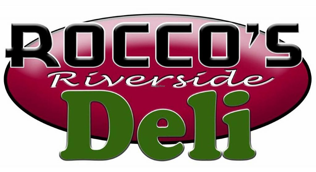 """Photo of Rocco's Riverside Deli  by <a href=""""/members/profile/community"""">community</a> <br/>Logo <br/> September 14, 2014  - <a href='/contact/abuse/image/50946/79945'>Report</a>"""