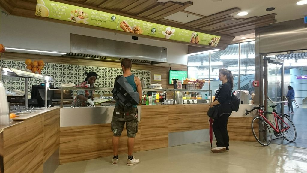 """Photo of Falaferia - Wien Praterstern  by <a href=""""/members/profile/dolandderk"""">dolandderk</a> <br/>The Falaferia counter <br/> August 17, 2015  - <a href='/contact/abuse/image/50955/114010'>Report</a>"""