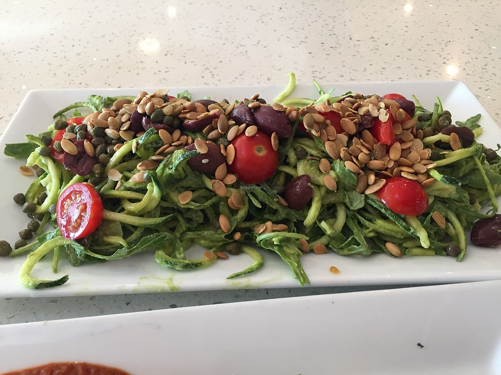 """Photo of JOi Cafe  by <a href=""""/members/profile/JLP"""">JLP</a> <br/>The Bob Marley salad - more like a huge meal <br/> August 10, 2017  - <a href='/contact/abuse/image/50969/290983'>Report</a>"""