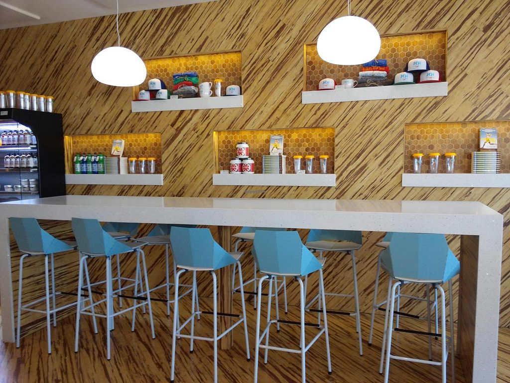 """Photo of JOi Cafe  by <a href=""""/members/profile/dancingvegan"""">dancingvegan</a> <br/>Counter seating <br/> September 21, 2014  - <a href='/contact/abuse/image/50969/80636'>Report</a>"""