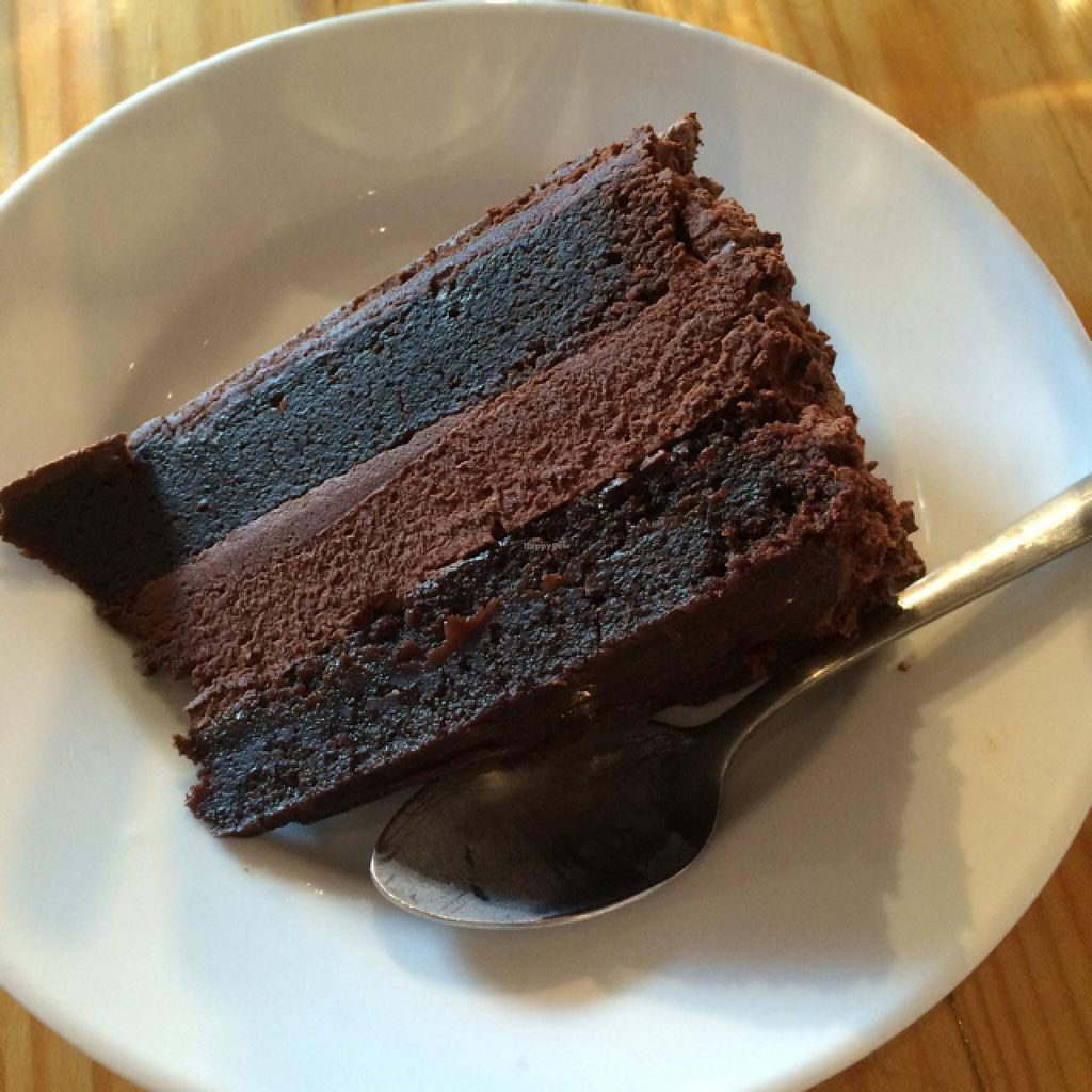 "Photo of Karamel  by <a href=""/members/profile/EmmaBarr"">EmmaBarr</a> <br/>The best vegan chocolate cake! <br/> June 6, 2015  - <a href='/contact/abuse/image/51081/104933'>Report</a>"