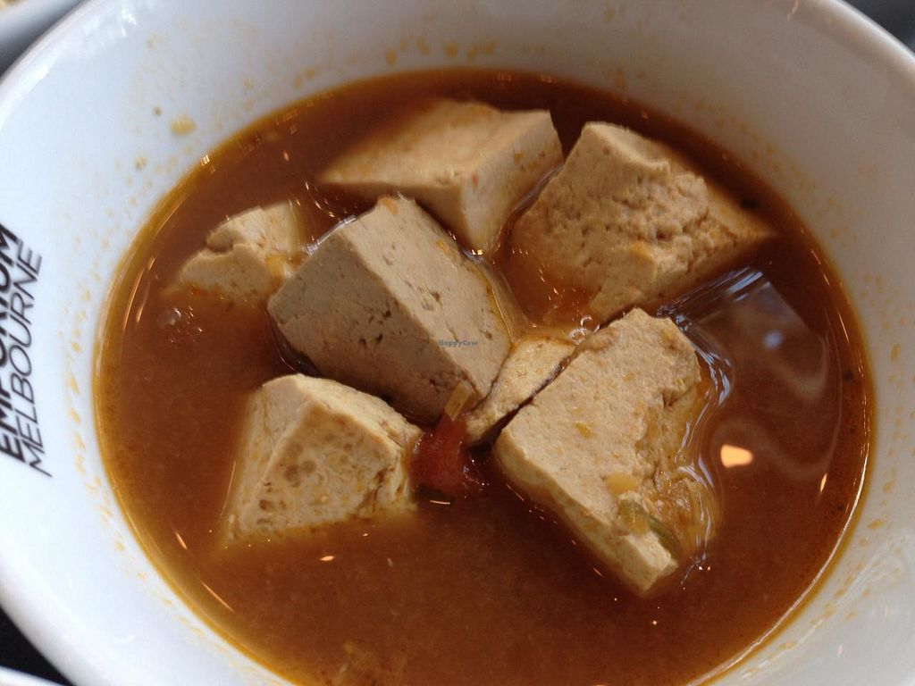 """Photo of CLOSED: Supercharger - The Emporium  by <a href=""""/members/profile/Tiggy"""">Tiggy</a> <br/>Fresh tofu simmered in Tom Yum broth - April 2015 <br/> April 11, 2015  - <a href='/contact/abuse/image/51092/98691'>Report</a>"""