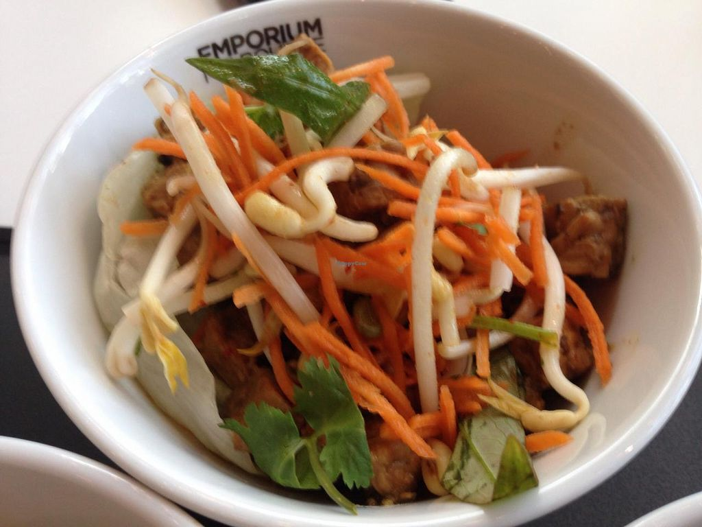 """Photo of CLOSED: Supercharger - The Emporium  by <a href=""""/members/profile/Tiggy"""">Tiggy</a> <br/>San Choi Bo of tempeh - with mushrooms, vegetables and herbs in a fresh lettuce cup - April 2015 <br/> April 11, 2015  - <a href='/contact/abuse/image/51092/98693'>Report</a>"""