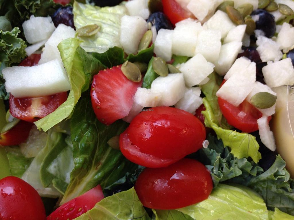 """Photo of CLOSED: Native Foods - Conn Ave  by <a href=""""/members/profile/cookiem"""">cookiem</a> <br/>Summer berry salad <br/> July 24, 2015  - <a href='/contact/abuse/image/51093/110777'>Report</a>"""