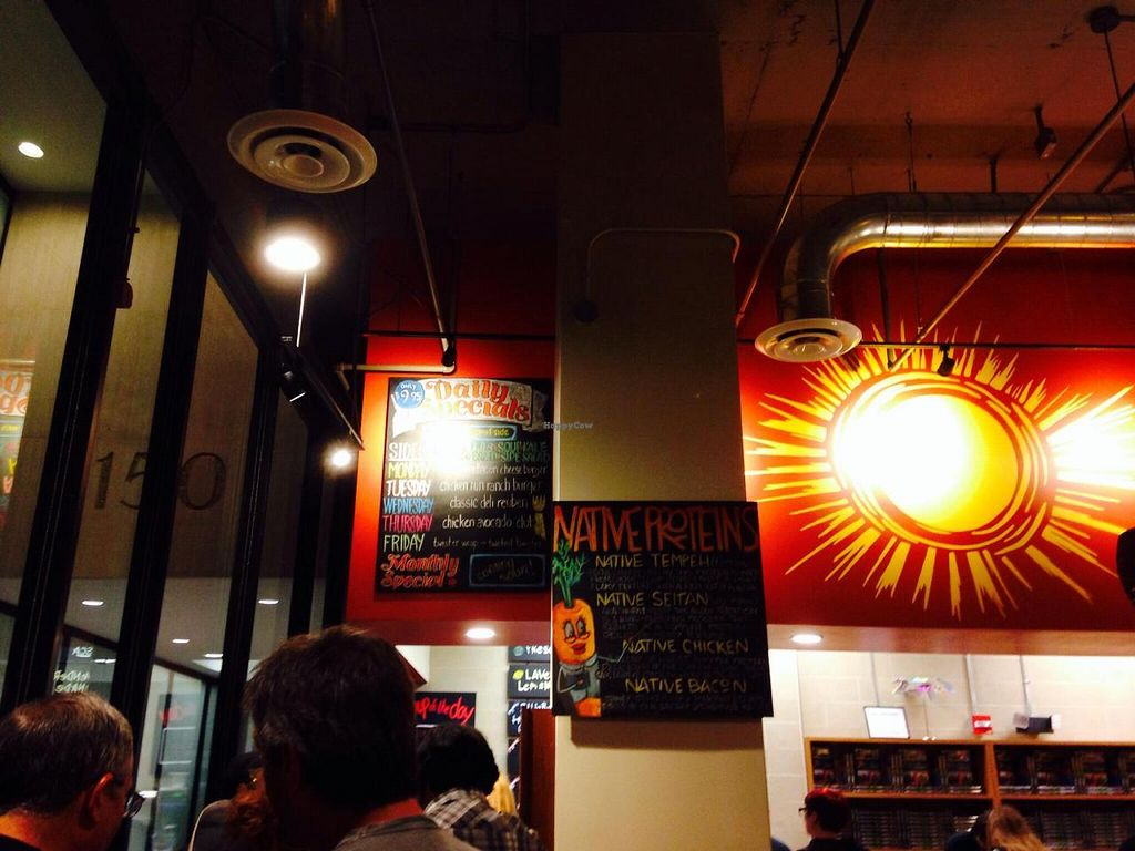 """Photo of CLOSED: Native Foods - Conn Ave  by <a href=""""/members/profile/cookiem"""">cookiem</a> <br/>Upstairs by the register <br/> September 27, 2014  - <a href='/contact/abuse/image/51093/81272'>Report</a>"""