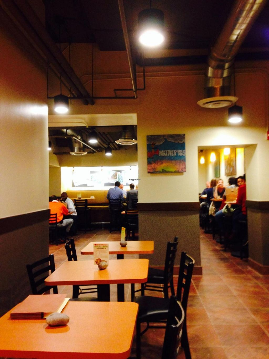 """Photo of CLOSED: Native Foods - Conn Ave  by <a href=""""/members/profile/cookiem"""">cookiem</a> <br/>Part of downstairs seating <br/> September 27, 2014  - <a href='/contact/abuse/image/51093/81273'>Report</a>"""