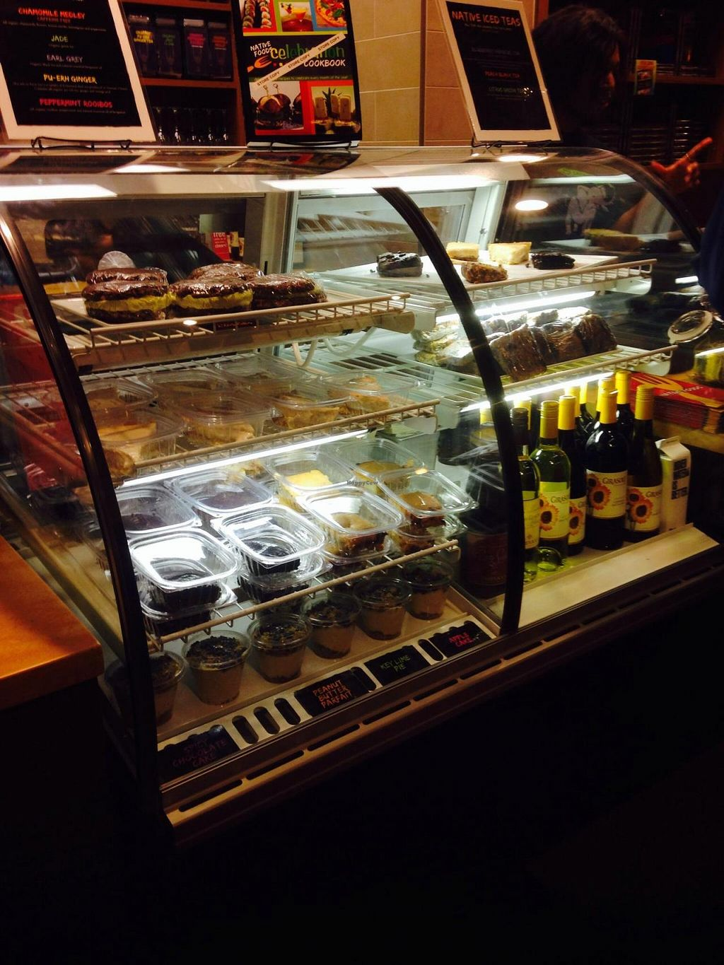 """Photo of CLOSED: Native Foods - Conn Ave  by <a href=""""/members/profile/cookiem"""">cookiem</a> <br/>Dessert case <br/> October 5, 2014  - <a href='/contact/abuse/image/51093/82246'>Report</a>"""