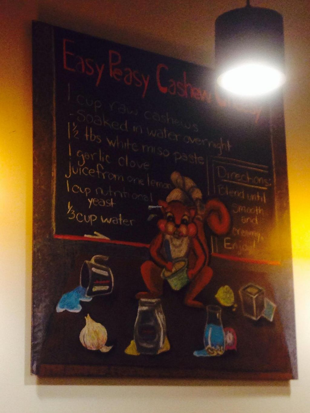 """Photo of CLOSED: Native Foods - Conn Ave  by <a href=""""/members/profile/cookiem"""">cookiem</a> <br/>Squirrel recipe art <br/> October 5, 2014  - <a href='/contact/abuse/image/51093/82247'>Report</a>"""