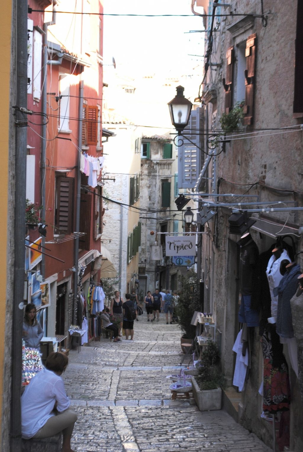 "Photo of Tipico  by <a href=""/members/profile/snafli"">snafli</a> <br/>Small alley in Rovinj where Tipico is located <br/> September 12, 2015  - <a href='/contact/abuse/image/51098/117465'>Report</a>"