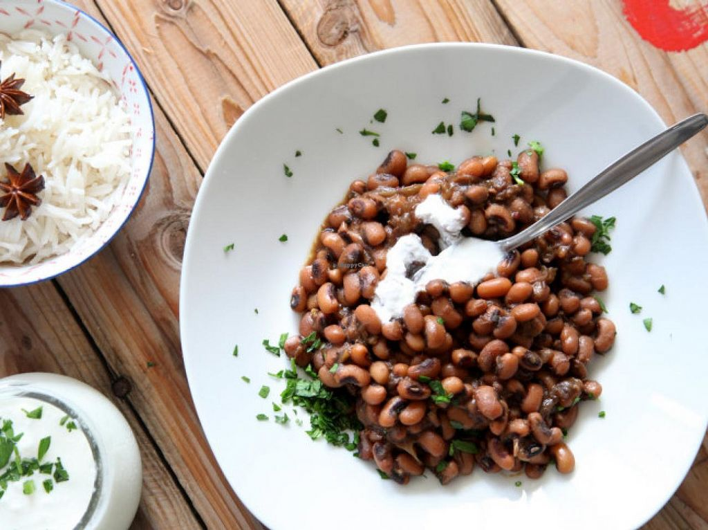 "Photo of CLOSED: Gavriel  by <a href=""/members/profile/NoamK"">NoamK</a> <br/>black eyed peas with fresh ginger and carob. 