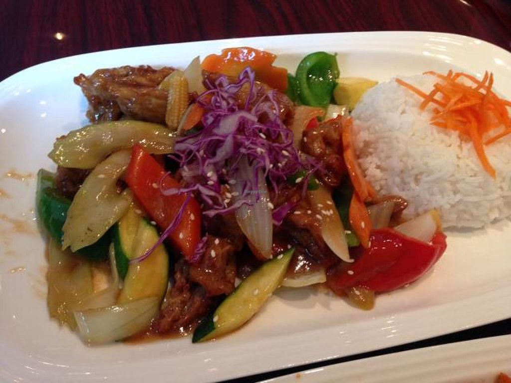 """Photo of Asian Stars Restaurant  by <a href=""""/members/profile/gwild"""">gwild</a> <br/>pineapple stir fry <br/> September 14, 2014  - <a href='/contact/abuse/image/51149/79867'>Report</a>"""