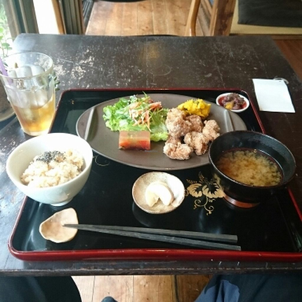 """Photo of Kamakura Vegetable Cafe  by <a href=""""/members/profile/Seeayesix"""">Seeayesix</a> <br/>set meal <br/> May 9, 2016  - <a href='/contact/abuse/image/51157/148128'>Report</a>"""
