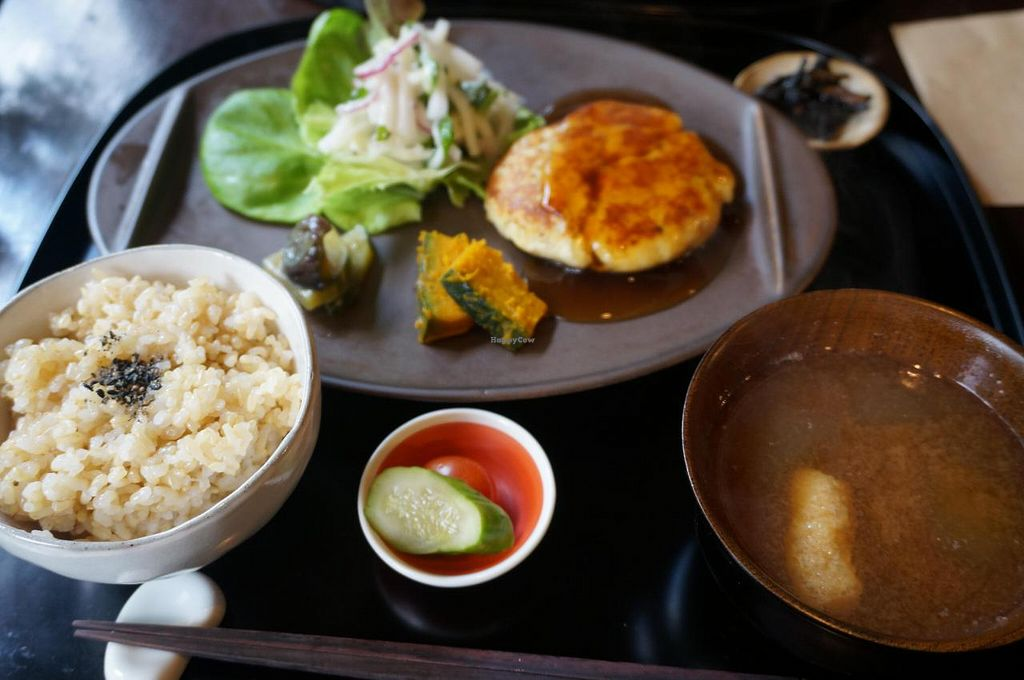 """Photo of Kamakura Vegetable Cafe  by <a href=""""/members/profile/Ricardo"""">Ricardo</a> <br/>Lunch plate <br/> September 11, 2014  - <a href='/contact/abuse/image/51157/79614'>Report</a>"""