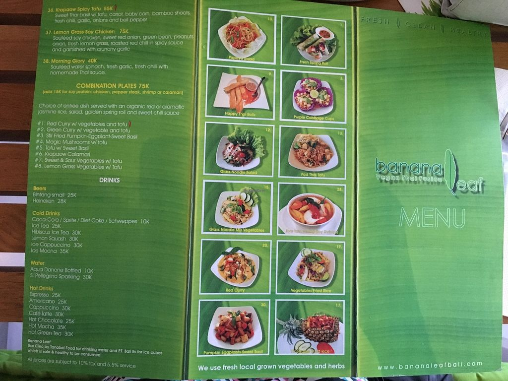 "Photo of CLOSED: Banana Leaf Vegan Thai Fusion  by <a href=""/members/profile/ty_kingdon"">ty_kingdon</a> <br/>menu <br/> February 9, 2016  - <a href='/contact/abuse/image/51196/135618'>Report</a>"