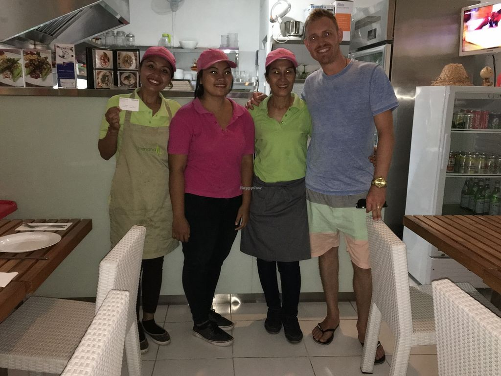 "Photo of CLOSED: Banana Leaf Vegan Thai Fusion  by <a href=""/members/profile/ty_kingdon"">ty_kingdon</a> <br/>The beautiful staff & owners <br/> February 9, 2016  - <a href='/contact/abuse/image/51196/135619'>Report</a>"