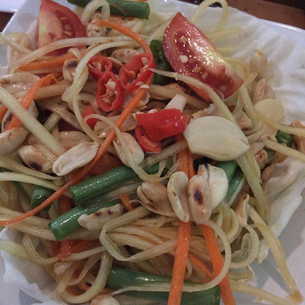 "Photo of CLOSED: Banana Leaf Vegan Thai Fusion  by <a href=""/members/profile/Eefie"">Eefie</a> <br/>Papaya salad ❤️ <br/> May 27, 2017  - <a href='/contact/abuse/image/51196/262989'>Report</a>"