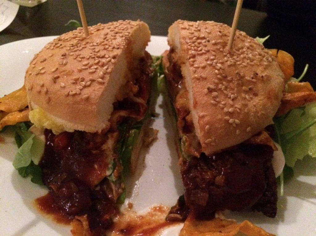 """Photo of CLOSED: vb veganburgers  by <a href=""""/members/profile/Beaa"""">Beaa</a> <br/>soy burger <br/> November 12, 2015  - <a href='/contact/abuse/image/51207/124719'>Report</a>"""