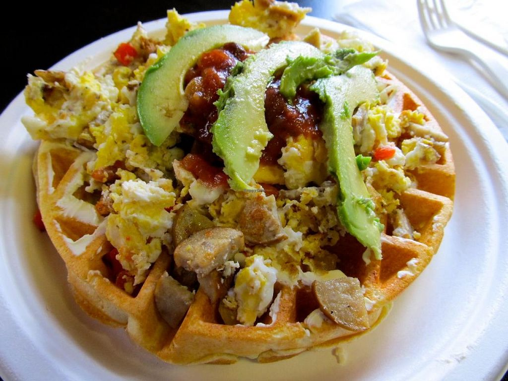 """Photo of Laughing Planet Cafe  by <a href=""""/members/profile/yman"""">yman</a> <br/>kiwan cafe rio gluten free food:waffles rancheros kiwan cafe rio is located in 2144 se oak grove blvd oak grove or 97267 <br/> December 21, 2014  - <a href='/contact/abuse/image/51224/88453'>Report</a>"""