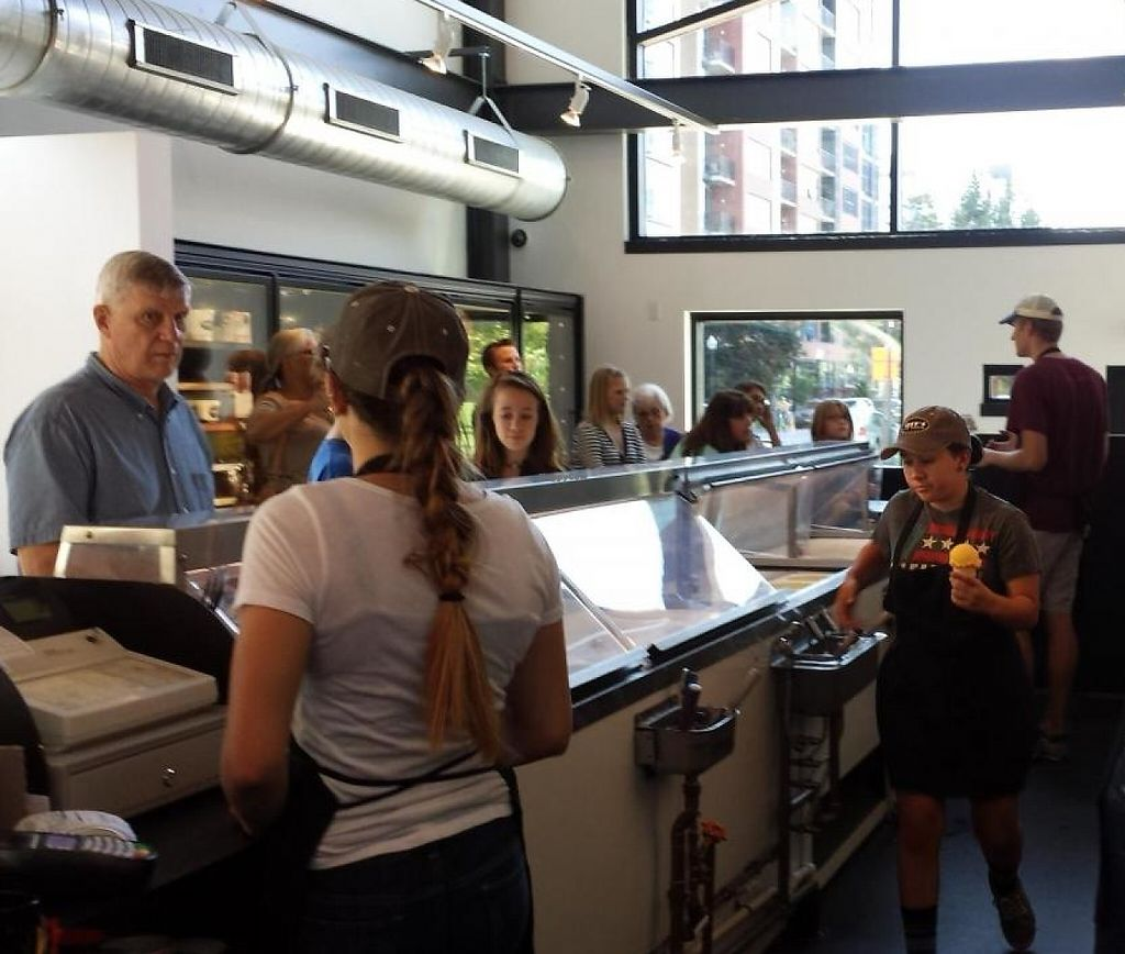 """Photo of Izzy's Ice Cream  by <a href=""""/members/profile/EverydayTastiness"""">EverydayTastiness</a> <br/>inside <br/> September 12, 2014  - <a href='/contact/abuse/image/51237/206220'>Report</a>"""