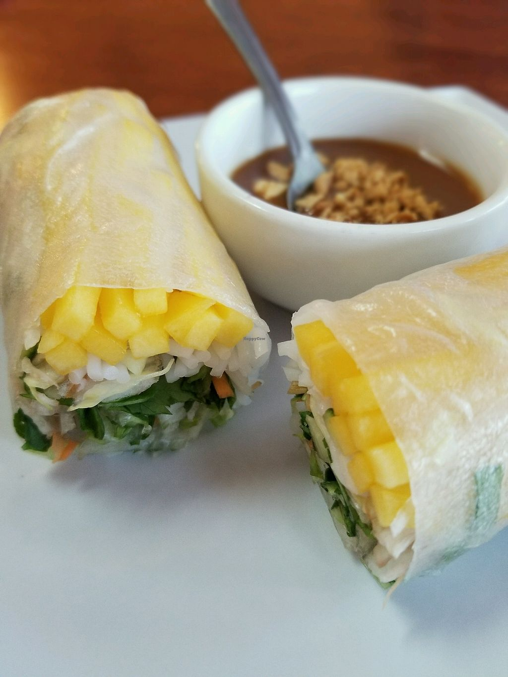 """Photo of Bambu  by <a href=""""/members/profile/IanHoxworth"""">IanHoxworth</a> <br/>Mango Spring Roll <br/> November 17, 2017  - <a href='/contact/abuse/image/51240/326551'>Report</a>"""